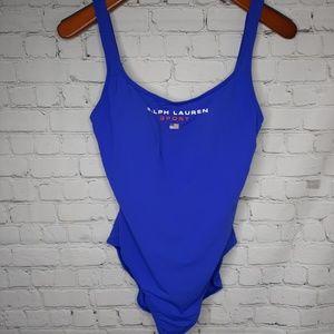 Vintage Ralph Lauren one piece swimsuit size 12